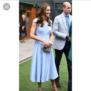 Emilia Wickstead Jordin dress Kate Middleton UK10